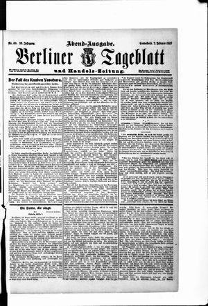 Berliner Tageblatt und Handels-Zeitung vom 02.02.1907