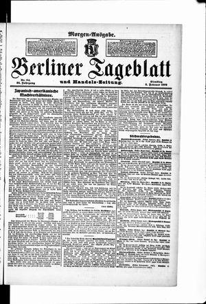 Berliner Tageblatt und Handels-Zeitung vom 05.02.1907