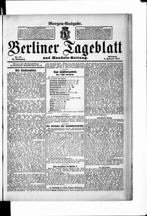Berliner Tageblatt und Handels-Zeitung vom 06.02.1907