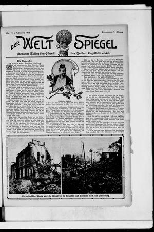 Berliner Tageblatt und Handels-Zeitung vom 07.02.1907