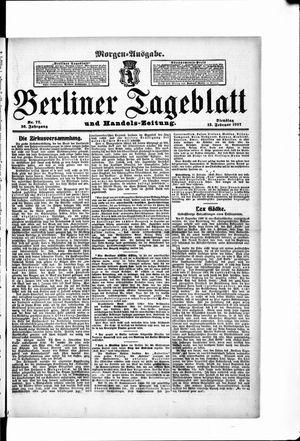 Berliner Tageblatt und Handels-Zeitung vom 12.02.1907