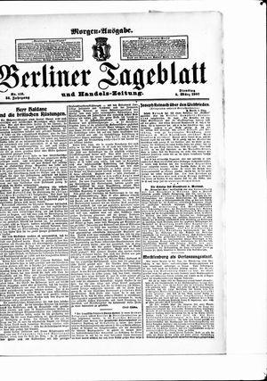 Berliner Tageblatt und Handels-Zeitung vom 05.03.1907