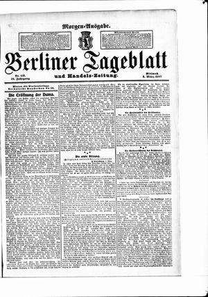 Berliner Tageblatt und Handels-Zeitung vom 06.03.1907