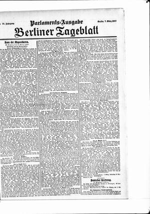 Berliner Tageblatt und Handels-Zeitung vom 07.03.1907
