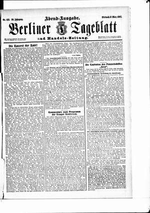 Berliner Tageblatt und Handels-Zeitung vom 13.03.1907