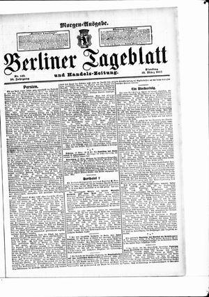 Berliner Tageblatt und Handels-Zeitung vom 19.03.1907
