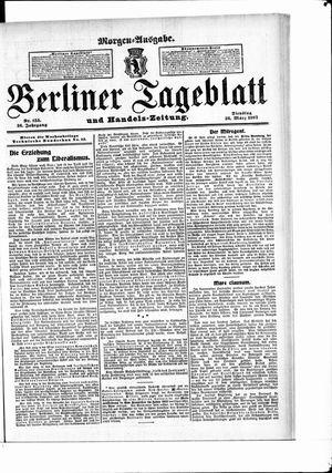 Berliner Tageblatt und Handels-Zeitung vom 26.03.1907