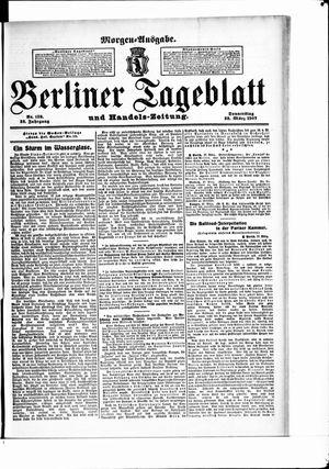 Berliner Tageblatt und Handels-Zeitung vom 28.03.1907
