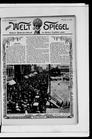 Berliner Tageblatt und Handels-Zeitung vom 31.03.1907