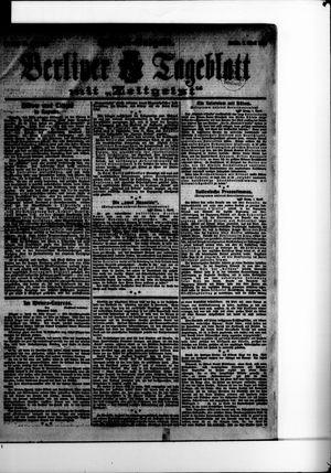 Berliner Tageblatt und Handels-Zeitung vom 01.04.1907