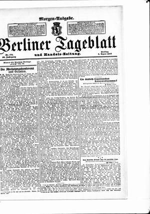 Berliner Tageblatt und Handels-Zeitung vom 05.04.1907