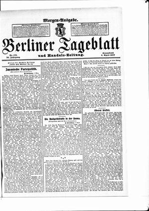 Berliner Tageblatt und Handels-Zeitung vom 06.04.1907