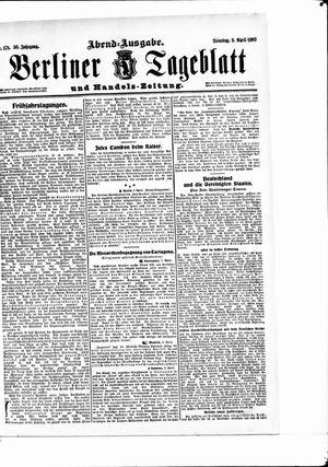 Berliner Tageblatt und Handels-Zeitung vom 09.04.1907