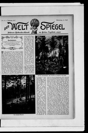 Berliner Tageblatt und Handels-Zeitung vom 25.04.1907