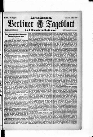 Berliner Tageblatt und Handels-Zeitung vom 04.05.1907