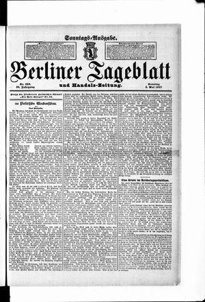 Berliner Tageblatt und Handels-Zeitung vom 05.05.1907
