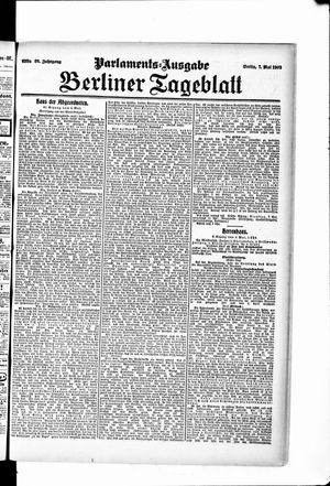 Berliner Tageblatt und Handels-Zeitung vom 07.05.1907