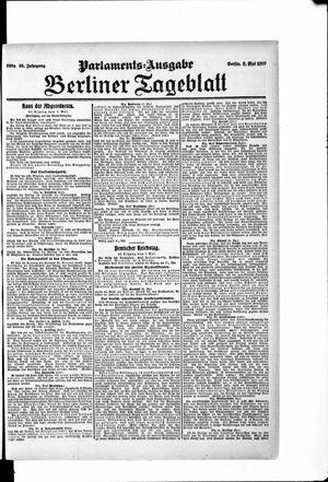 Berliner Tageblatt und Handels-Zeitung vom 08.05.1907