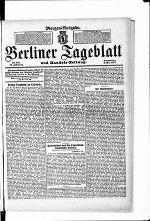 Berliner Tageblatt und Handels-Zeitung vom 09.05.1907