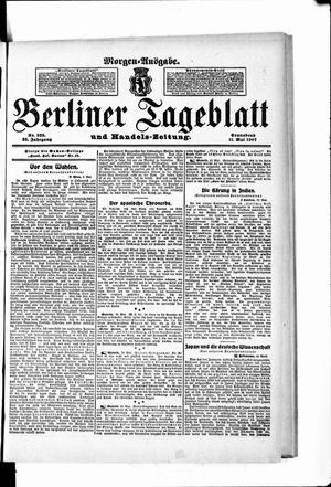 Berliner Tageblatt und Handels-Zeitung vom 11.05.1907
