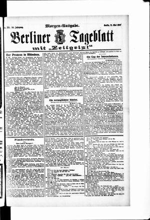 Berliner Tageblatt und Handels-Zeitung vom 21.05.1907
