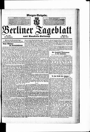 Berliner Tageblatt und Handels-Zeitung vom 22.05.1907