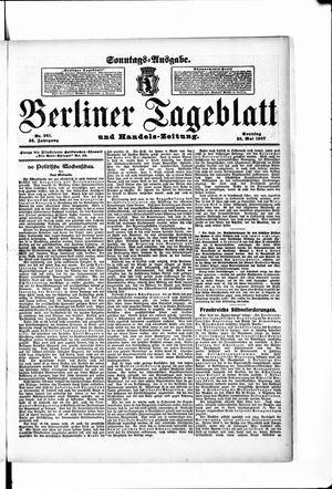 Berliner Tageblatt und Handels-Zeitung on May 26, 1907