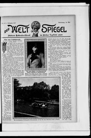 Berliner Tageblatt und Handels-Zeitung vom 30.05.1907
