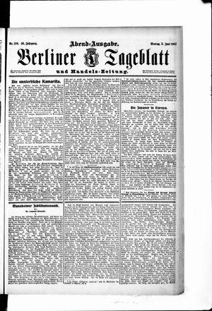 Berliner Tageblatt und Handels-Zeitung on Jun 3, 1907