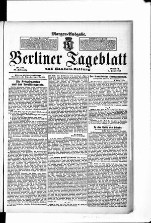 Berliner Tageblatt und Handels-Zeitung vom 05.06.1907