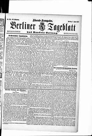 Berliner Tageblatt und Handels-Zeitung vom 07.06.1907