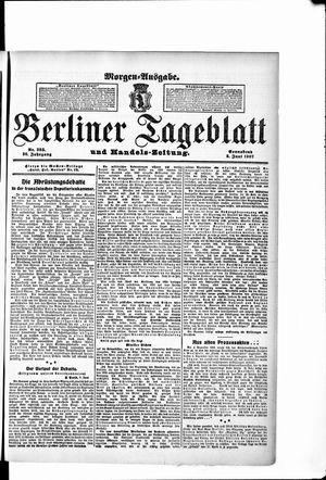 Berliner Tageblatt und Handels-Zeitung vom 08.06.1907