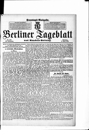 Berliner Tageblatt und Handels-Zeitung vom 09.06.1907