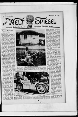 Berliner Tageblatt und Handels-Zeitung vom 20.06.1907