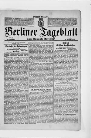 Berliner Tageblatt und Handels-Zeitung vom 03.01.1913