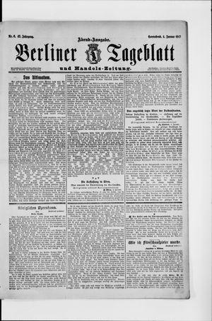 Berliner Tageblatt und Handels-Zeitung vom 04.01.1913