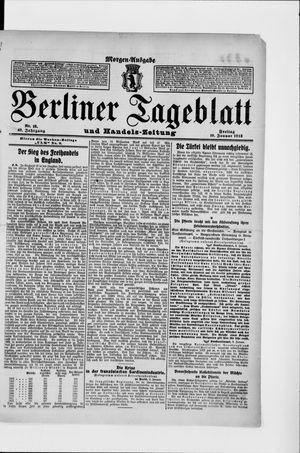 Berliner Tageblatt und Handels-Zeitung vom 10.01.1913