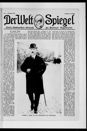 Berliner Tageblatt und Handels-Zeitung vom 12.01.1913