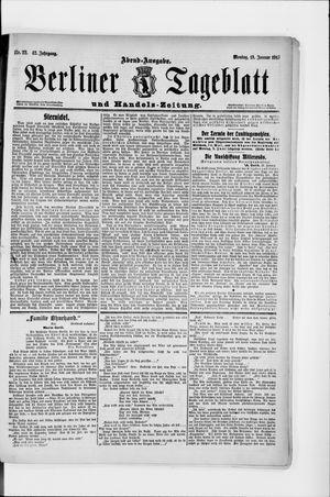 Berliner Tageblatt und Handels-Zeitung vom 13.01.1913
