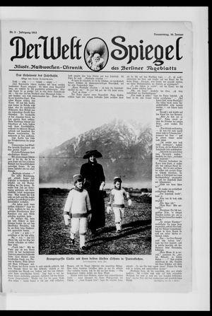 Berliner Tageblatt und Handels-Zeitung on Jan 16, 1913