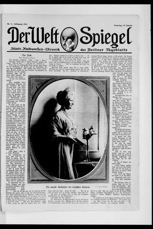 Berliner Tageblatt und Handels-Zeitung vom 19.01.1913