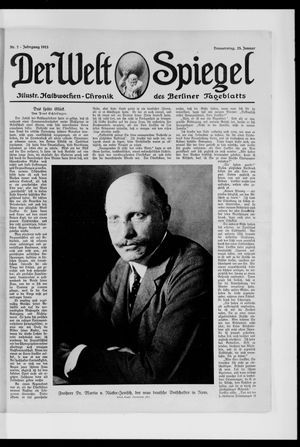 Berliner Tageblatt und Handels-Zeitung vom 23.01.1913