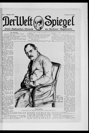 Berliner Tageblatt und Handels-Zeitung vom 26.01.1913