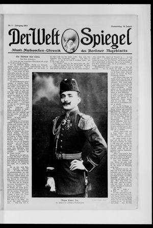 Berliner Tageblatt und Handels-Zeitung vom 30.01.1913