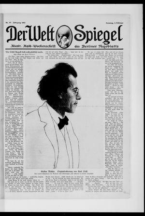 Berliner Tageblatt und Handels-Zeitung vom 02.02.1913