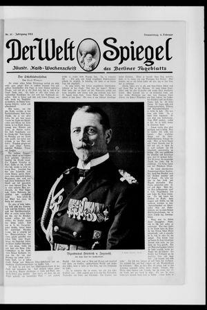Berliner Tageblatt und Handels-Zeitung vom 06.02.1913