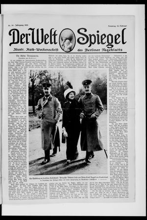Berliner Tageblatt und Handels-Zeitung vom 16.02.1913