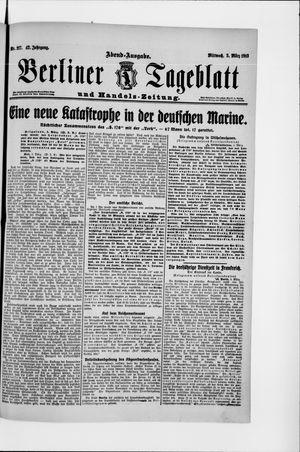 Berliner Tageblatt und Handels-Zeitung vom 05.03.1913