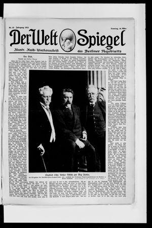Berliner Tageblatt und Handels-Zeitung vom 16.03.1913