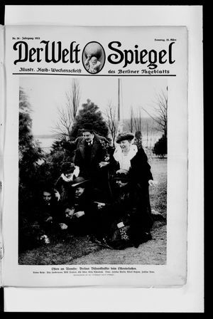 Berliner Tageblatt und Handels-Zeitung vom 23.03.1913